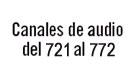 Canal: CANALES DE AUDIO
